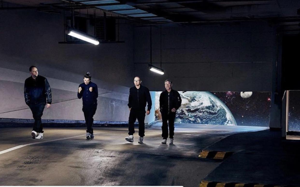 Die fantastischen 4 im Luna Studio Hamburg, Smudo, Michi Beck, Hausmarke, Thomas D