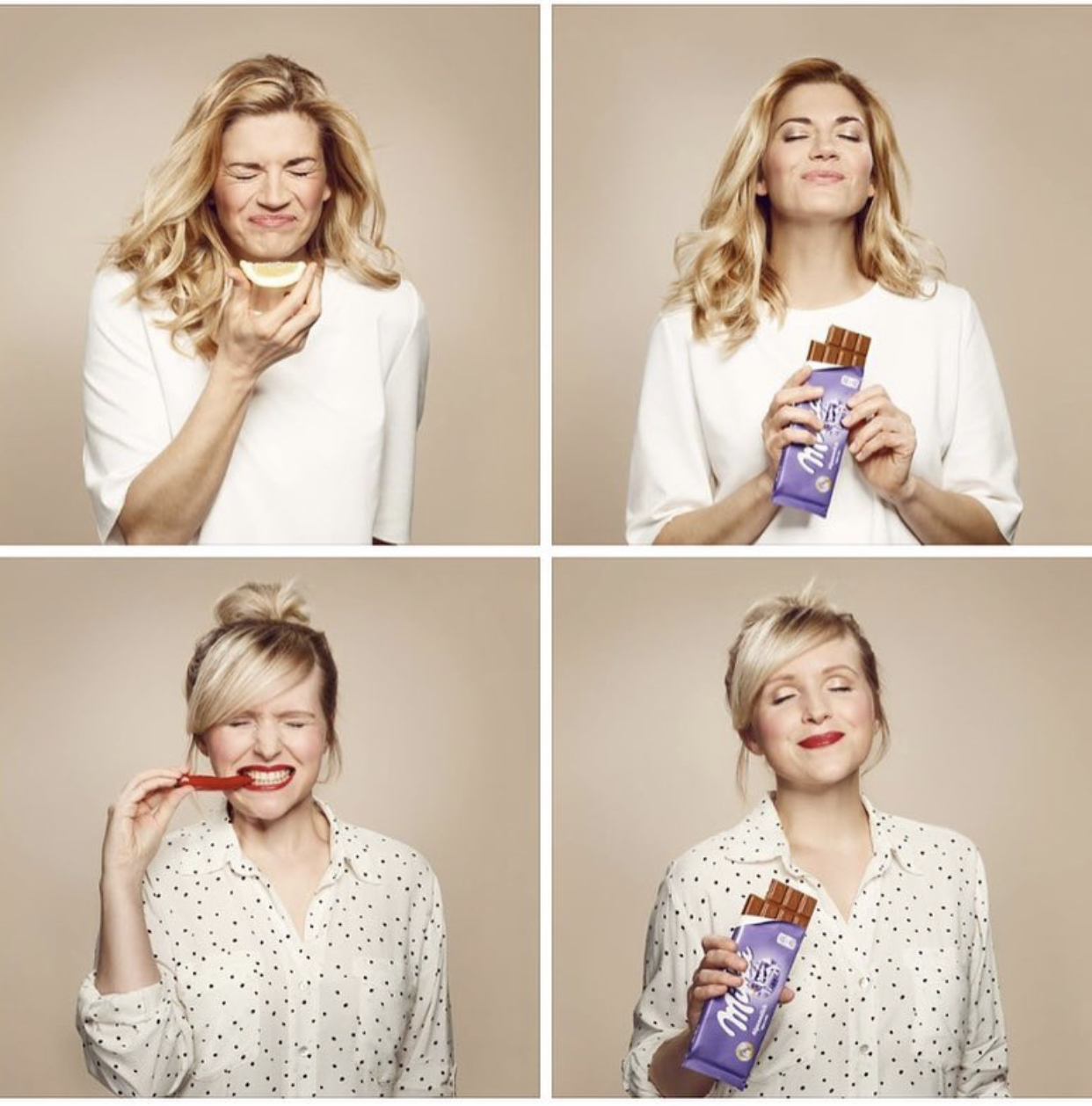 Commercial Shoot Milka chocolate @ Luna Studios Client Mondelēz International photo Miriam Lindthaler